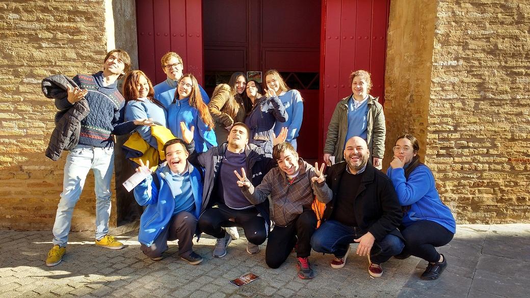 Visita de los alumnos de FPB al CDAEA