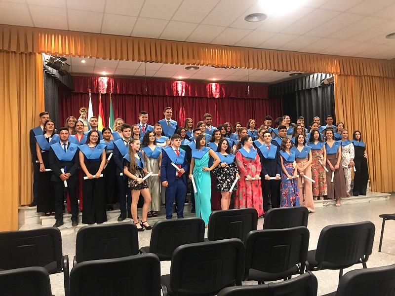 Graduación de los alumnos de 2º de Bachillerato, curso 2018-19