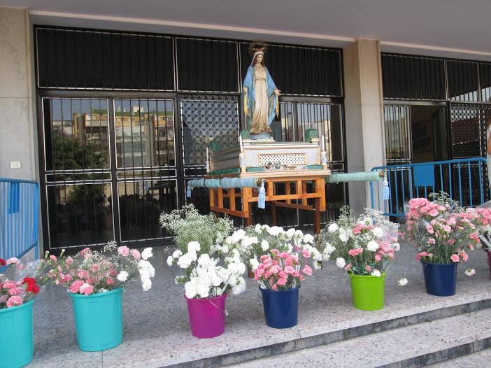 Ofrenda floral a la Virgen 2019