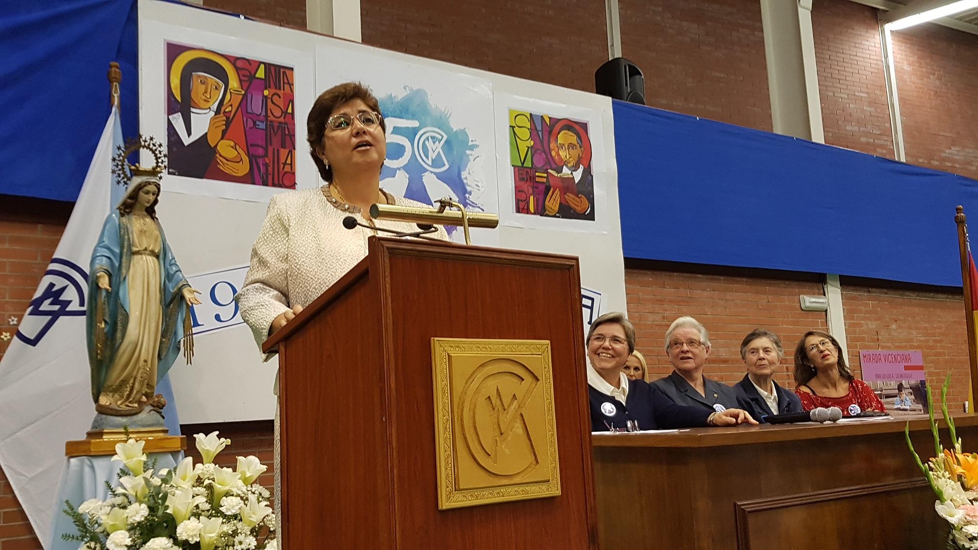 Apertura del Cincuentenario del Colegio Virgen Milagrosa